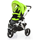 more details on ABC Design Cobra 2-in-1 Pushchair - Silver/Lime.