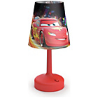 more details on Philips Disney Cars Table Lamp - Red.