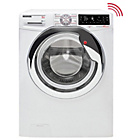 more details on Hoover Wizard DWTL49AIW3 9KG Wi-Fi Washing Machine- Ins/Rec.