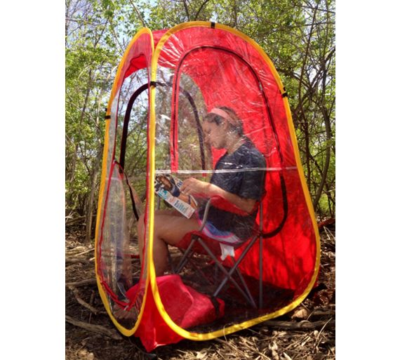 Personal Pop Up Shelter : Buy under the weather pop up personal shelter red at