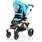 more details on ABC Design Mamba 2-in-1 Pushchair - Silver/Rio.