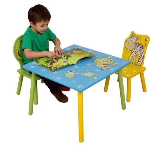 Buy Liberty House Toys Table And Chairs At Argos.co.uk