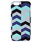 more details on Clik iPhone6/6s Hard Shell Case - Chevron.