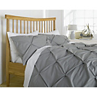 more details on Heart of House Hadley Pintuck Bedding Set - Kingsize.