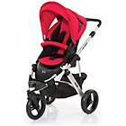 more details on ABC Design Cobra 2-in-1 Pushchair - Silver/Cranberry.