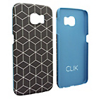 more details on Clik Samsung S6 Hard Shell Case - Cube Illusion.