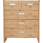 more details on New Capella 3+2 Drawer Chest - Pine Effect.