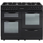 more details on Cookworks CCL100DFB Dual Fuel Range Cooker - Black.