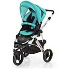 more details on ABC Design Cobra 2-in-1 Pushchair - Silver/Coral.