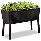 more details on Keter Rattan Effect Fully Lined Cradle Planter.