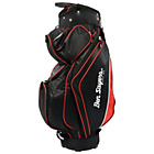 more details on Ben Sayers Golf 14 Way Deluxe Cart Bag - Black/Red.