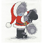 more details on Me to You Santa in the Snow Cross Stitch Set.