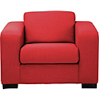 more details on New Ava Fabric Chair - Red.