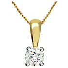 more details on Made For You 18ct Gold 0.33ct Diamond Pendant Necklace.