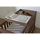 more details on Tutti Bambini Milan Cot Top Changer - Walnut.
