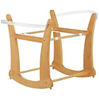 more details on Obaby Rocking Moses Basket Stand - Pine.