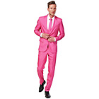 more details on Solid Pink Suit - Size Large.