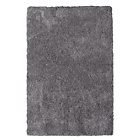 more details on Two Tone Supersoft Deep Pile Rug - 170x110cm - Grey.