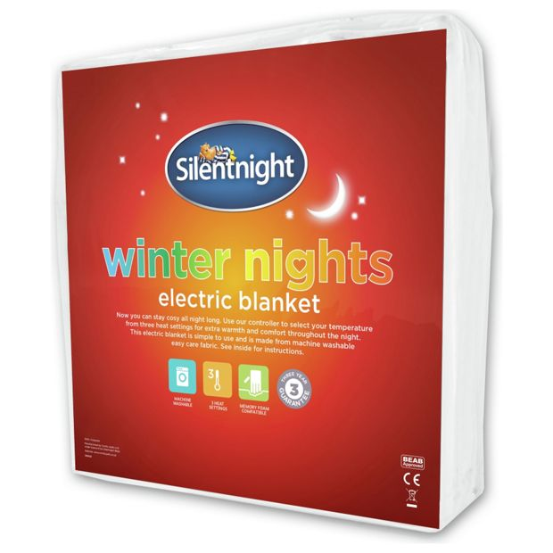 Buy Silentnight Winter Nights Heated Underblanket Double