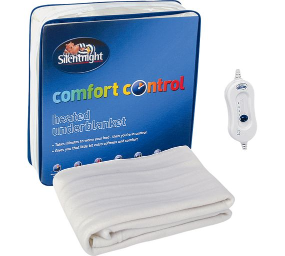 Buy Silentnight Essentials Heated Underblanket Double At