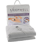 more details on Sleepwell Intelliheat Luxury Mattress Cover - Single.