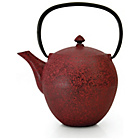 more details on BergHOFF Cast Iron Teapot 1L - Dark Red.