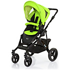 more details on ABC Design Mamba 2-in-1 Pushchair - Black/Lime.