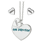 more details on 1D Niall Heart Necklace and Earrings Set.