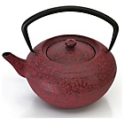 more details on BergHOFF Studio Cast Iron Teapot 1.3L - Dark Red.