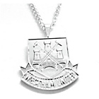 more details on Silver Plated West Ham Pendant and Chain.