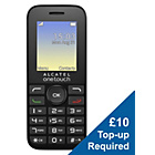more details on O2 Alcatel 1016 Mobile Phone.