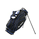 more details on Ben Sayers Golf X-Lite Stand Bag - Black/Blue.