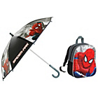 more details on Spiderman 3D Backpack and Umbrella.