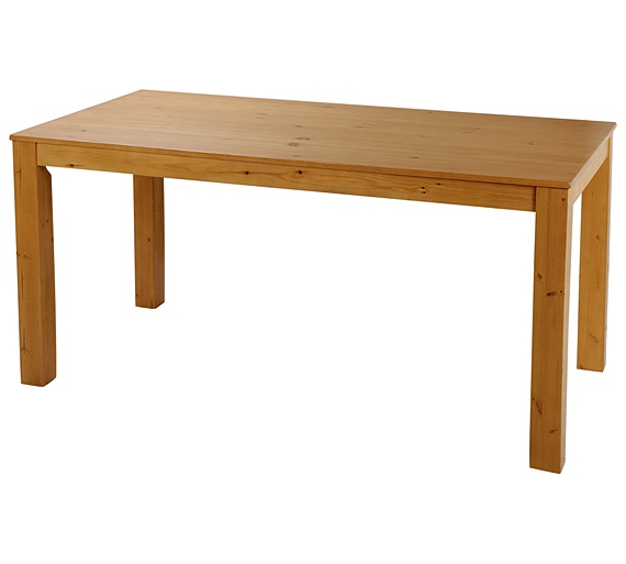 Buy HOME Newton Dining Table And 4 Chairs Oak Stain
