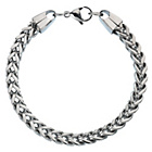 more details on Stainless Steel Square Curb Bracelet.