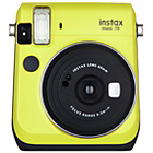 more details on Fujifilm Instax Mini 70 Camera with 10 Shots - Yellow.