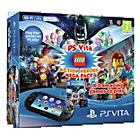 more details on PS Vita Console and 3 LEGO Game Bundle.