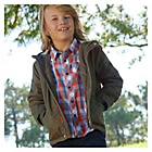 more details on Cherokee Boys Khaki Coat - 11-12 Years.
