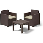more details on Keter Allegro 2 Seater Table and Chair Set.