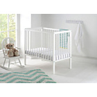 more details on East Coast Nursery Carolina Space Saver Cot - White.