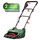 more details on Qualcast Corded Cylinder Lawnmower - 400W.