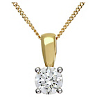 more details on Made For You 18ct Gold 0.25ct Diamond Pendant Necklace.