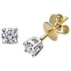 more details on Made for You 18ct Gold 0.25ct Diamond Earrings.