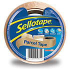 more details on Sellotape 48mm x 50m  Parcel Tape - Pack of 8.