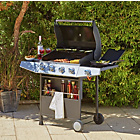 more details on Premium 4 Burner Gas BBQ with Side Burner - Store Pickup.