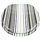 more details on Stripe Toilet Seat - Black and White.