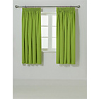 more details on ColourMatch Kids' Apple Green Blackout Curtains - 168x137cm.
