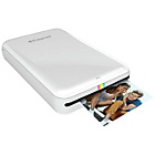 more details on Polaroid Zip Instant Print Mobile Printer & 10 Shots - White