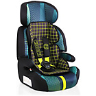 more details on Koochi Motohero Car Seat - Green Hyperwave.