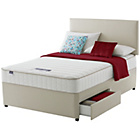 more details on Silentnight Wilmslow Memory Double 2 Drawer Divan Bed